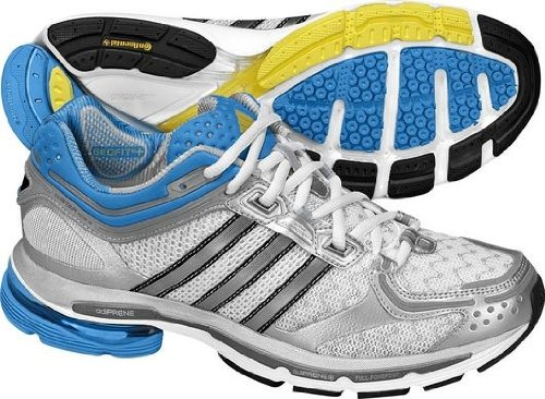 outlet store 68a85 f3256 ADIDAS-adiSTAR-Ride-3-Ladies-Running-Shoes-WhiteSilverBlue-