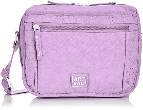 f5fb6c47e ARTSAC Womens 50045 Crossbody Bag Cross-Body Lilac - Top Fashion Shop