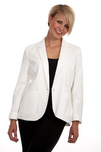 Anastasia Cream Womens Cotton Fashion Jacket Size 10 38