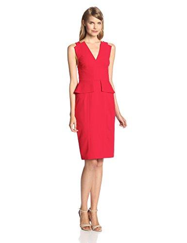 6791844e02b BCBGMAXAZRIA Women s Cocktail Plain or unicolor Sleeveless Dress ...