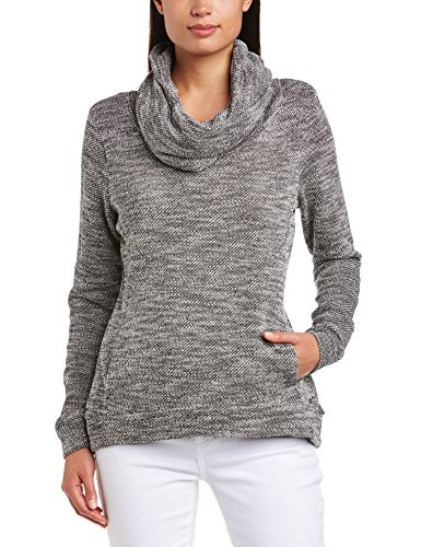 e7921c978f Bench-Womens-Coastalcluster-Long-Sleeve-Jumper-Jet-Black-
