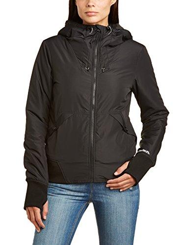 Bench Women S One Timer Long Sleeve Jacket Jet Black