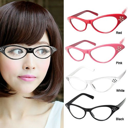 844b7fcc0ec2 Beyondfashion 50 s Grease Ladies Rock and Roll Fancy Dress Glasses ...