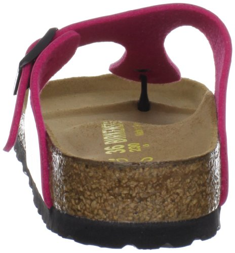 Birkenstock Womens Gizeh Bflor Thong Sandals 845601 Pink