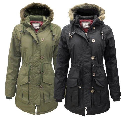 Cheap online clothing stores » Parka coats for women with fur hood