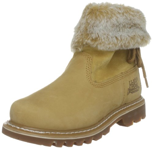 Cat Footwear Womens Bruiser Scrunch Nubuck Honey Ankle
