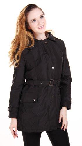 Womens Fur Lined Parka Coats