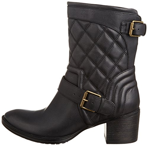 Clarks Womens Casual Clarks Movie Stage Leather Boots In