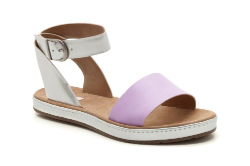 fa12ffe60c5 Clarks Womens Casual Clarks Romantic Moon Leather Sandals In Lilac ...