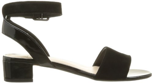 5268d5111bc5 Clarks Womens Smart Clarks Sharna Balcony Suede Sandals In Black ...