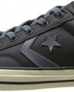 Converse Unisex Adult Star Player Adulte Tonal Leather OX Trainers 383160 8 Noir 3.5 UK, 36 EU