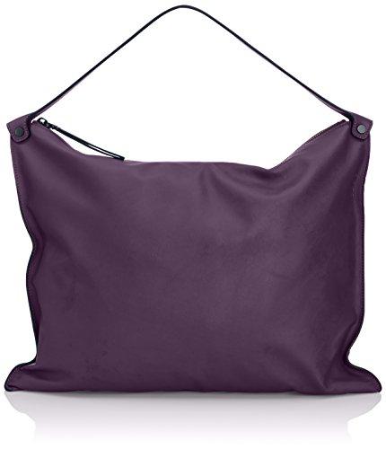 aaba1a7b8a2 ECCO Womens Sculptured Shoulder Bag 9104595-90395 Burgundy - Top ...