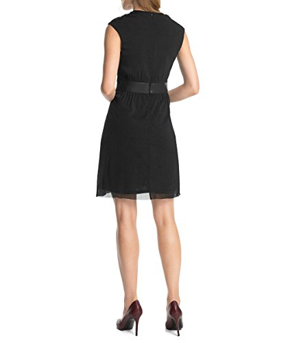 esprit collection women 39 s sleeveless dress black schwarz black 001 12 top fashion shop. Black Bedroom Furniture Sets. Home Design Ideas