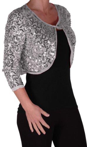 silver bolero cardigan cashmere sweater england. Black Bedroom Furniture Sets. Home Design Ideas
