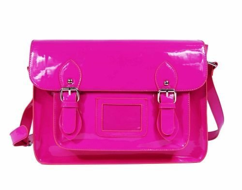 fashion neon satchel in fuschia top fashion shop. Black Bedroom Furniture Sets. Home Design Ideas