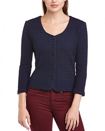 Fever Women S Winsford Button Front 3 4 Sleeve Cardigan