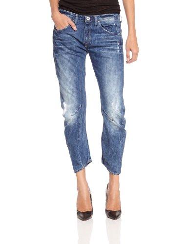 G star Raw Women's Arc 3D Kate Tapered Jeans, Blue (Medium Aged Destroy), W26L34