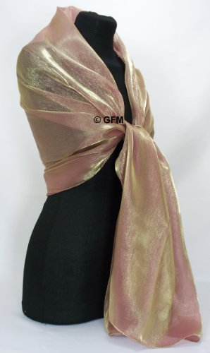 Gfm Sheer Shimmer Iridescent Scarf Colorcode Oxrd 2
