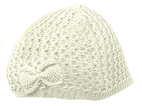 e864ebdd433 ... Knitted Warm Winter Wooly. ILCK-Ladies-Womens-Bow-Beanie-Hat-Cap-Plain-
