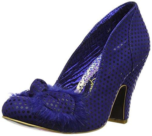 Irregular Choice Women s Mamas Boy Court Shoes 4135-10D-39 Blue 6 UK ... 9180a7c631