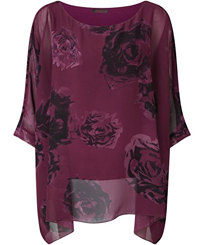 Joe Browns Womens Floral Rose Tunic