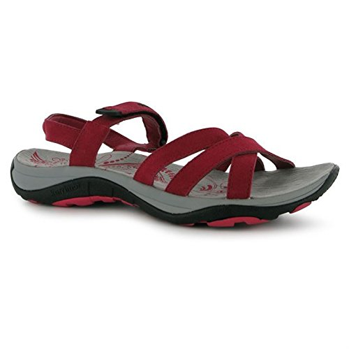 12a8166f72196 Karrimor Womens Salina Leather Ladies Walking Sandals Raspberry UK 6 ...