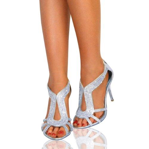 Metallic Evening Shoes Uk