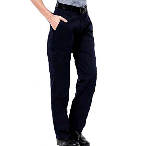 b913bfcd32 Ladies Cargo Combat Work Trousers Sizes 10 to 20 (12, Black) - Top ...