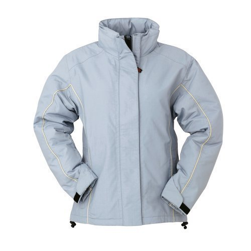 Ladies Fitted Waterproof & Windproof Outdoor Rain Parka ...