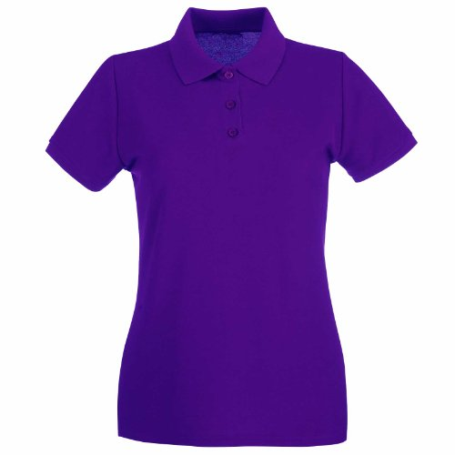 Ladies Pique Polo T Shirts Sizes 8 To 22 Work Casual
