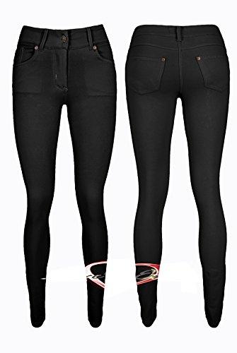 Ladies Stretch Pocket Skinny Jean Jeggings Size 8 10 12 14
