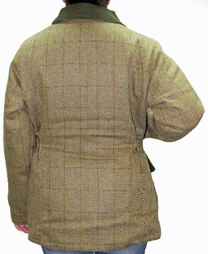Ladies Womens Derby Tweed Fitted Jacket Coat Shooting