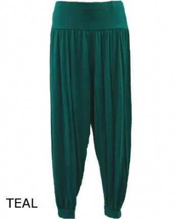 Lush Clothing Womens Full Length Ali Baba Harem Pants
