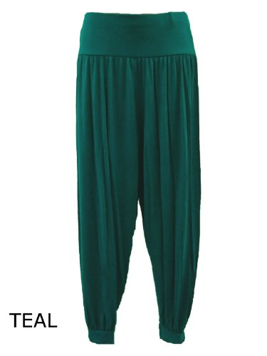 4ce912b954a Lush Clothing Womens Full Length Ali Baba Harem Pants Trousers Baggy ...