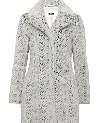 M&Co Ladies Snow Leopard Animal Pattern Luxury Faux Fur