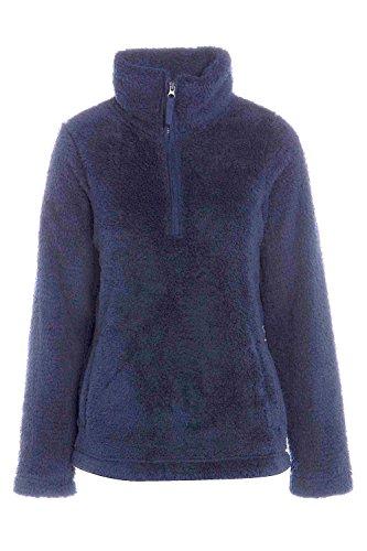 Spencer Jacket Blue Ladies Cardigans Marks Fleece Navy Zq7wvqRd