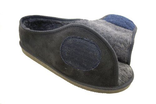 Mens Or Ladies Very Wide Fitting Velcro Memory Foam Insole