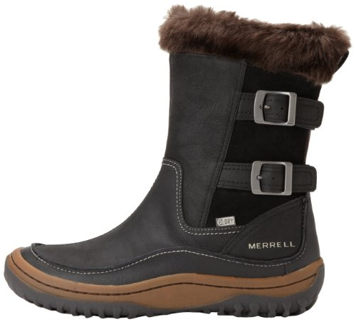 ae911499a9 Merrell Womens Decora Chant Waterproof Snow Boots J48420 Black 6 UK ...