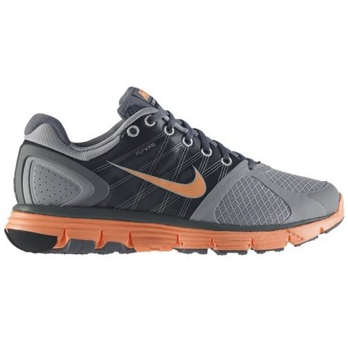 1127a175d387 NIKE-Lunarglide-2-Ladies-Running-Shoes-GreyOrange-UK75-