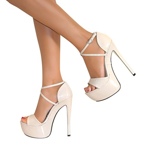 71bce4ca86d ... LADIES HIGH HEEL SANDAL SHOES SIZE. Perfect-Me-WOMENS-PEEP-TOE-STRAPPY- PLATFORM-STILETTO-