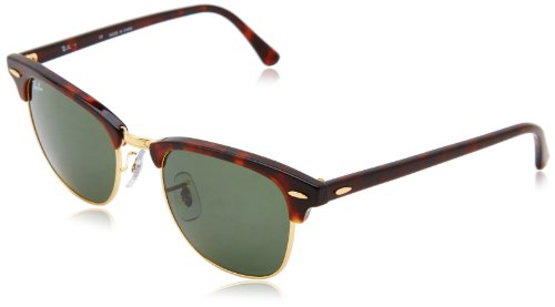 ec0af72d80a Ray-Ban Unisex Sunglasses Clubmaster Brown (Braun RB 3016 W0366) One ...