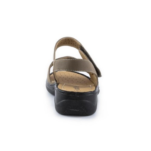 Black Velcro Strappy Shoes