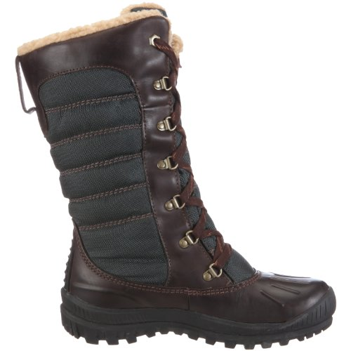 Timberland Women S Mount Holly Lace Duck Dark Brown Green