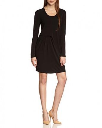 tommy hilfiger women 39 s long sleeve dress black schwarz. Black Bedroom Furniture Sets. Home Design Ideas