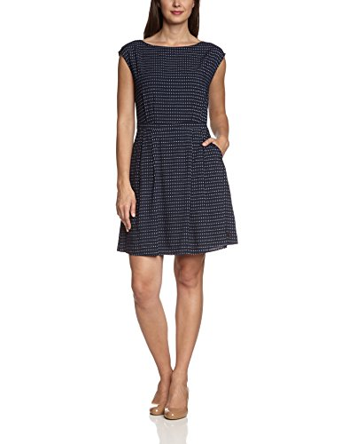 tommy hilfiger womens short sleeve dress blue blau core navy classic. Black Bedroom Furniture Sets. Home Design Ideas