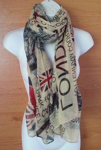 Union Jack Scarf London Souvenir Gift Soft Oversized