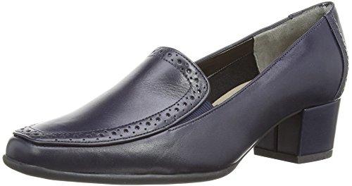 73b3788c Van Dal Womens Weston Court Shoes 2204420 Marine Navy Leather 4 UK ...