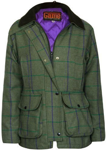 Womens Tweed Jacket Hunting Walking Riding Shooting Coat