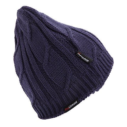 Womens Ladies Knitted Waterproof And Windproof Thermal Thinsulate ... c5867c45206