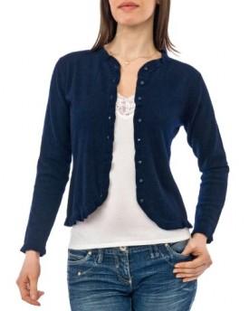 Best Fashion - Navy Blue Cardigans Ladies